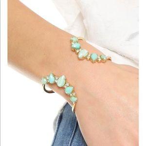 Kate spade Seastone Mint cuff bracelet